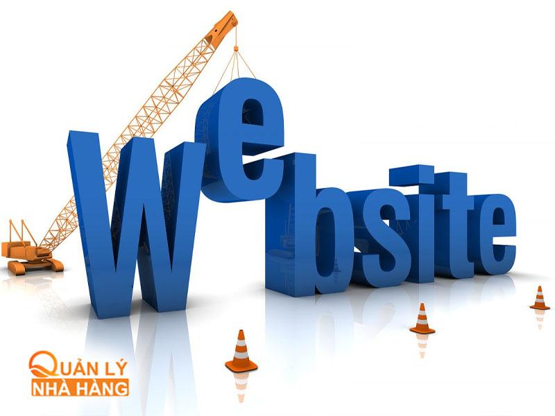 Tập trung xây dựng và chăm sóc Website nhà hàng