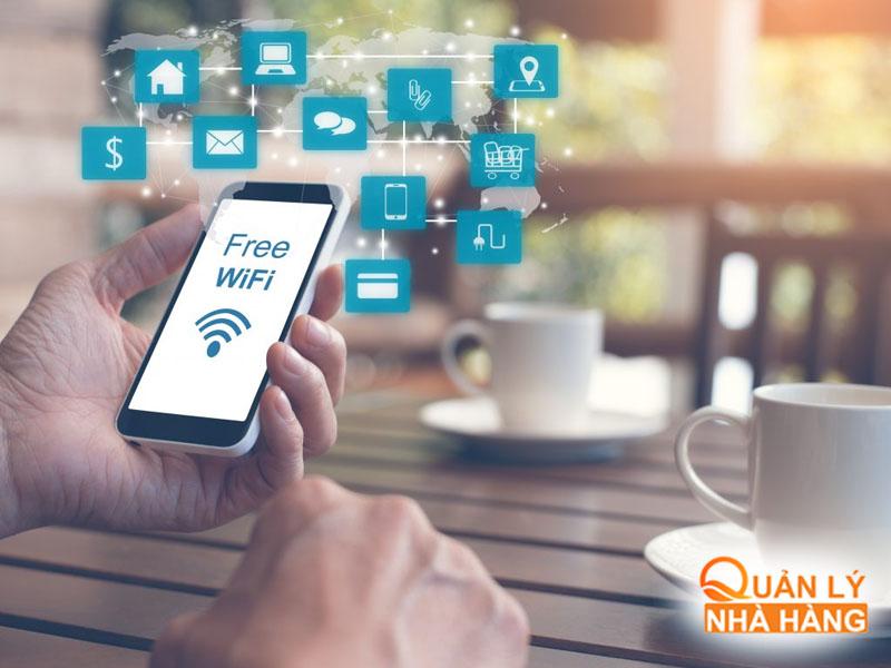 Wifi cũng giúp bạn Marketing cho nhà hàng mình