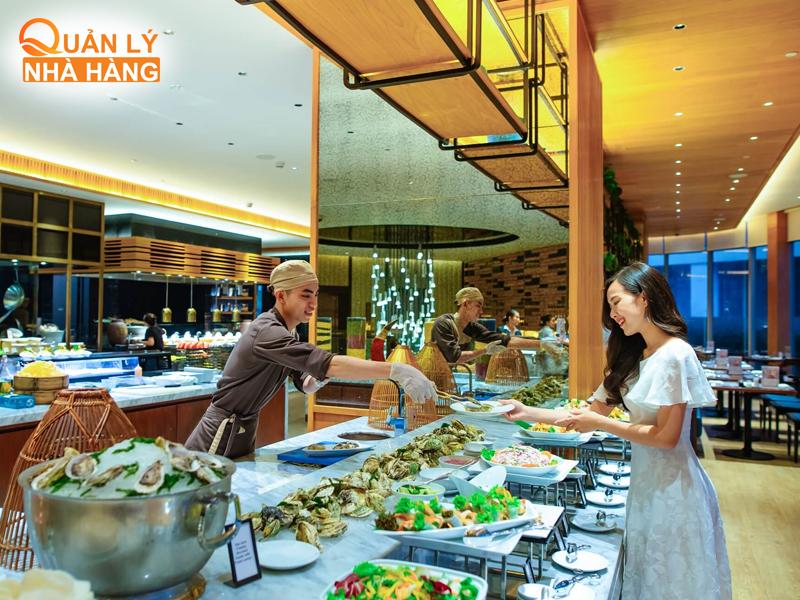 thay đổi hành vi khách hàng trong nhà hàng buffet