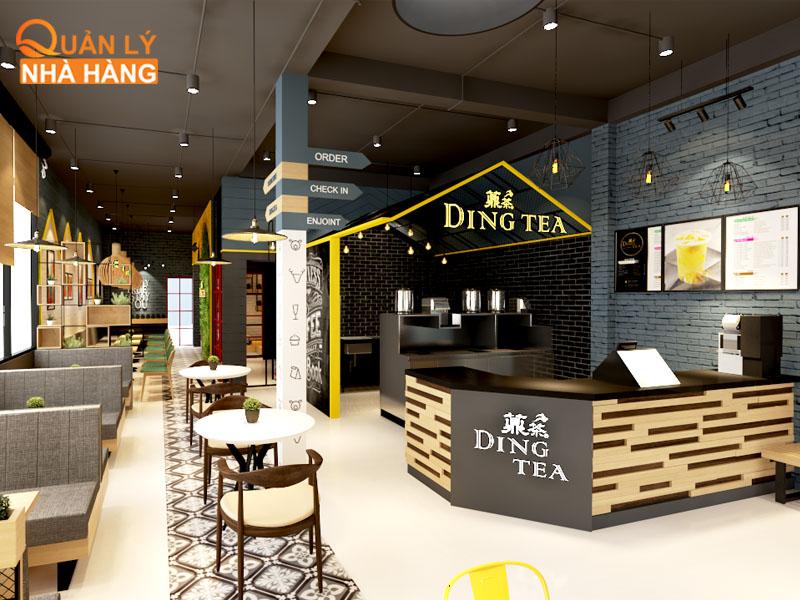 """Dingtea là thương hiệu trà sữa """"thuần chủng"""" của Đài Loan"""