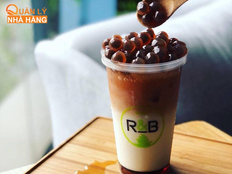 R&B là thương hiệu trà sữa hướng đến tập khách hàng cao cấp
