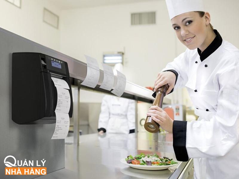 quản lý bếp nhà hàng