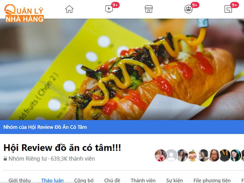 Hội Review đồ ăn có tâm!!! có hơn 639K thành viên