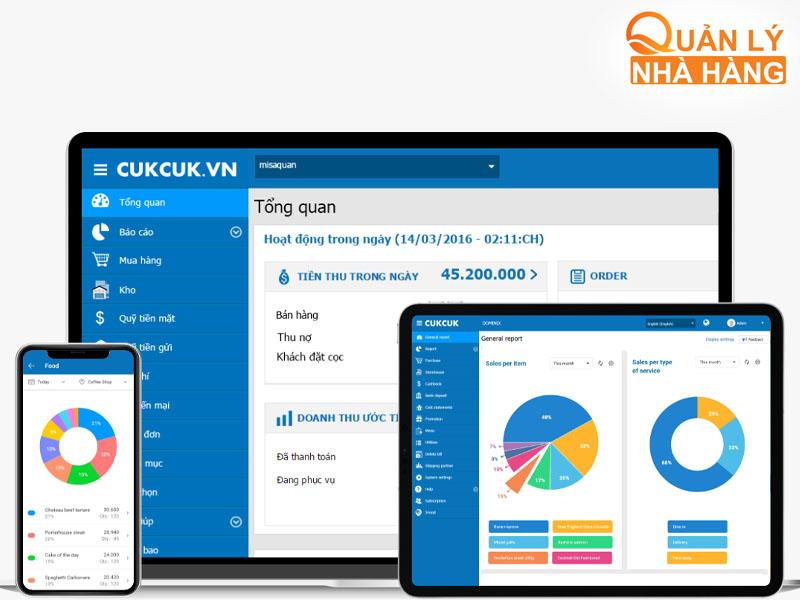 Cukcuk là một trong những phần mềm đến từ Công ty cổ phần MISA