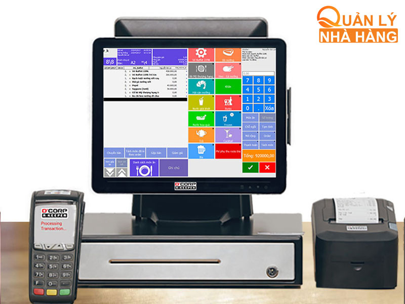 DCorp R-Keeper là phần mềm được sử dụng tại nhiều quốc gia trên thế giới