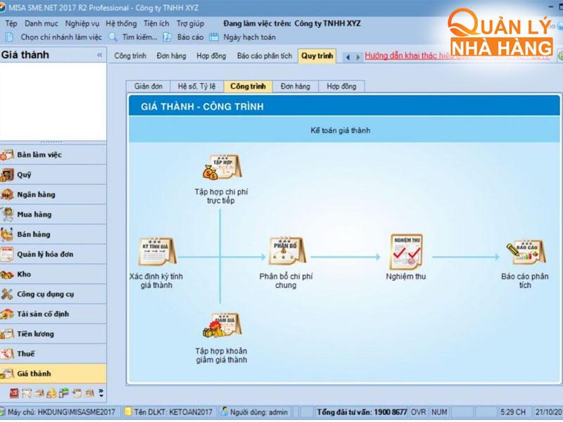 Phần mềm quản lý kho MISA