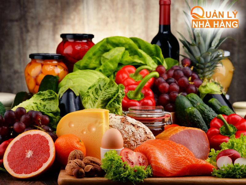 Thực phẩm phải đảm bảo vệ sinh an toàn, thực phẩm