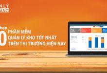 10 phần mềm quản lý kho