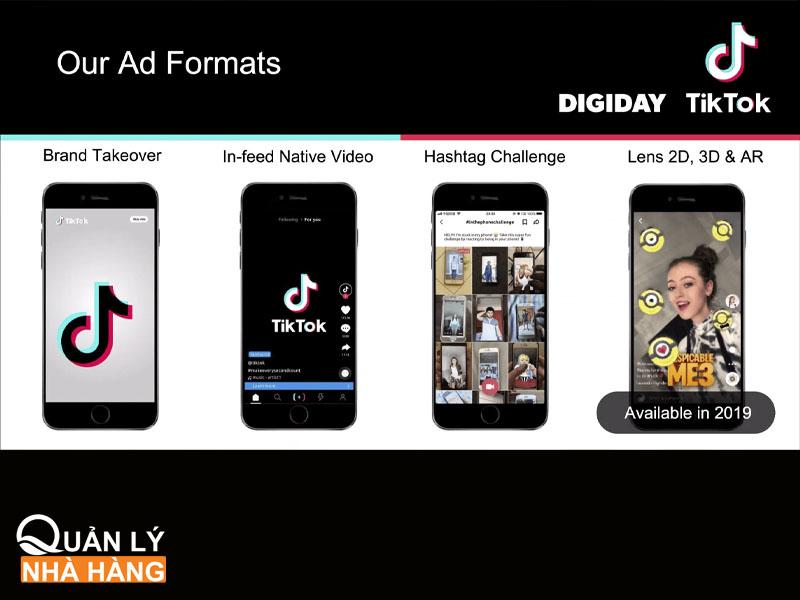 4 công cụ chạy quảng cáo trên TikTok