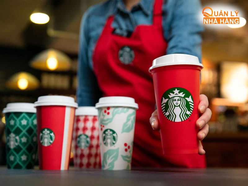 Starbucks đánh vào tâm lý sợ bỏ lỡ của khách hàng